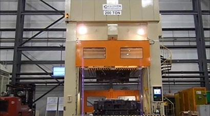 200吨模具研配压力机
