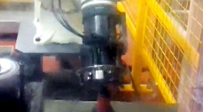 齿轮去毛刺机器人自动化线