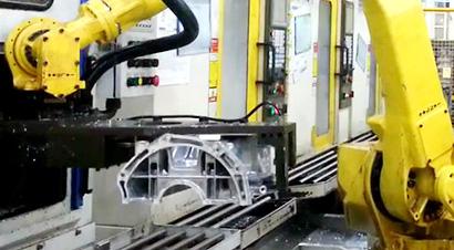 架梯加工搬运机器人自动化