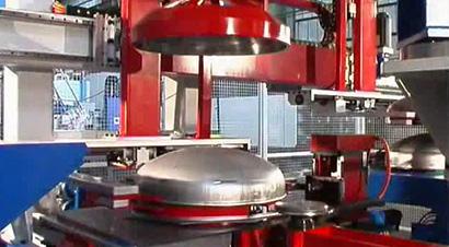 气瓶OMERA自动化生产