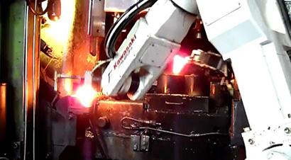 球笼生产热模锻压力机线