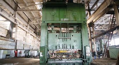 1250T直边板材压力机