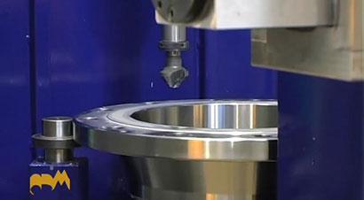 法兰加工自动化生产线