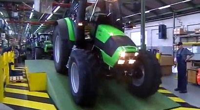 德道依茨-法尔拖拉机生产
