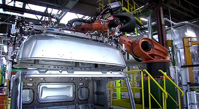 雷诺卡车生产流程一览