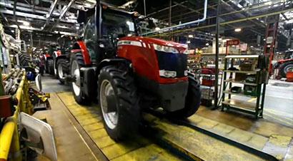 麦赛福格森工厂拖拉机制造