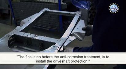 2CV汽车底盘生产过程