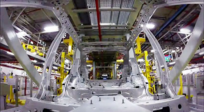 捷豹路虎在索利赫尔工厂