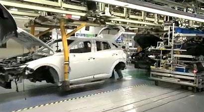 马自达CX-3生产线