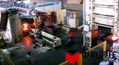 发动机曲轴自动化锻造生产