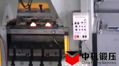 热模锻压力机自动化生产线