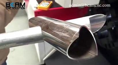 金属管和激光切割机