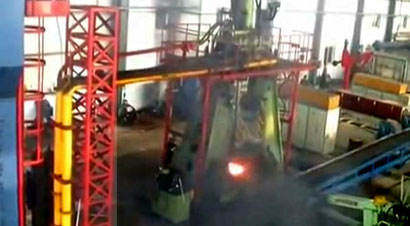 16吨模锻锤锻造铁路桥梁