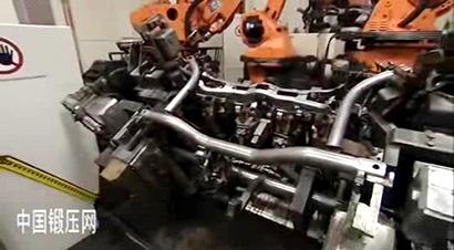 大众汽车零部件生产检验