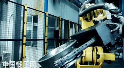宝石锻造自动化轮毂生产线