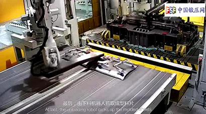 ABB机器人柳新汽车冲压