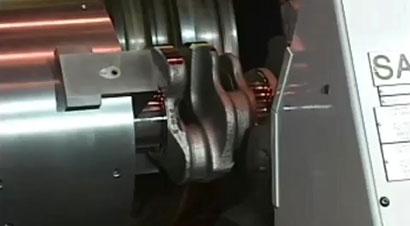 汽车钢曲轴加工