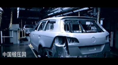 帕萨特 B7汽车生产线