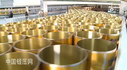 红牛铝罐自动化生产