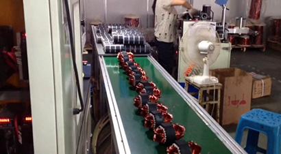 压缩机电机定子生产线