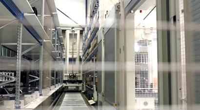 装卸灵活的自动化立体仓库