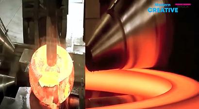 德国现代自动重型钢锻造