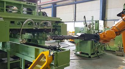 4000吨俄锻压机自动化